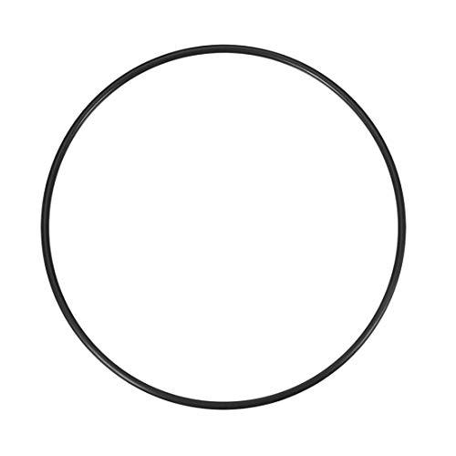 sourcing map O-Ringe Nitrilkautschuk 182mm x 190mm x 4mm Dichtungsringe Dichtung schwarz DE de