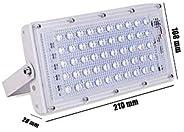 A & Y Elite Series 50W Ultra Thin Slim IP65 Waterproof LED Flood Outdoor (White) Pack