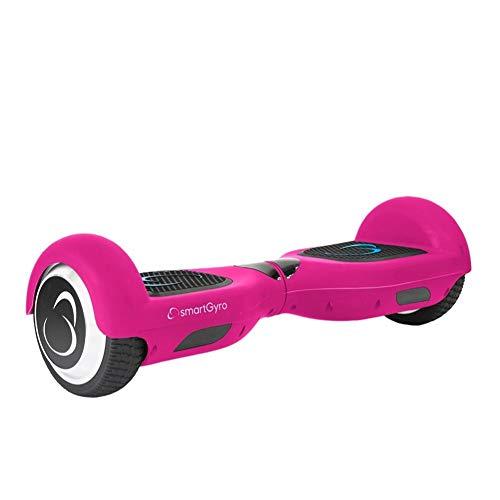"""SmartGyro X2 UL v.3.0  Pink - Potente Patinete Eléctrico, Ruedas de 6.5\"""" Antipinchazos, Batería de Litio 4400 mAh, vel. Máxima 12 Km/h, Autonomía de 20 Km, Certificado UL, Color Rosa"""