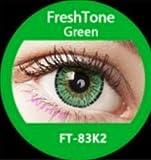 donne multicolore carino fascino e attraente moda lenti a contatto casi cosmetici trucco ombretto–gemma verde con lenti a contatto caso di visione Enno TM