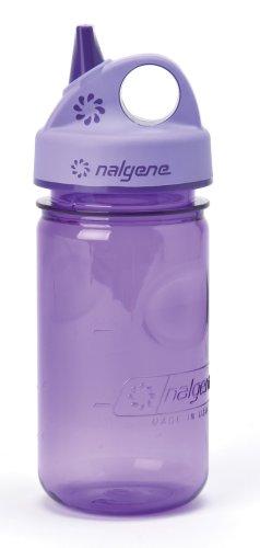 NALGENE Tritan Grip-N-Gulp BPA-Free Water Bottle, Viola
