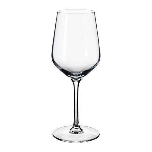 IKEA IVRIG - White wine glass clear glass - 26 cl