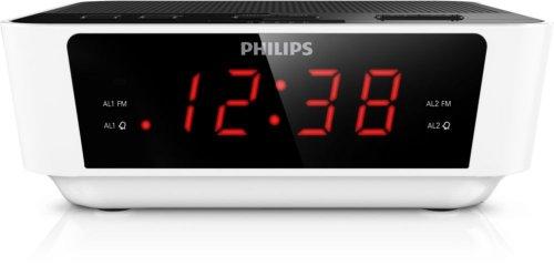 Philips AJ3115/05 Orologio Bianco