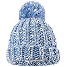 Mountain Warehouse Bonnet en Tricot épais pour Enfants - Pompon, Chaud,  Mignon et Confortable affe9a5df1e