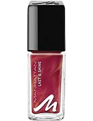 Manhattan Last & Shine Nagellack, Nr.650 Red-Y-Licious, 1er Pack (1 X 10 ml)