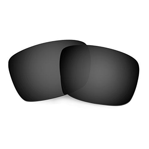 HKUCO Mens Replacement Lenses For Oakley Fuel Cell Sunglasses Black Polarized