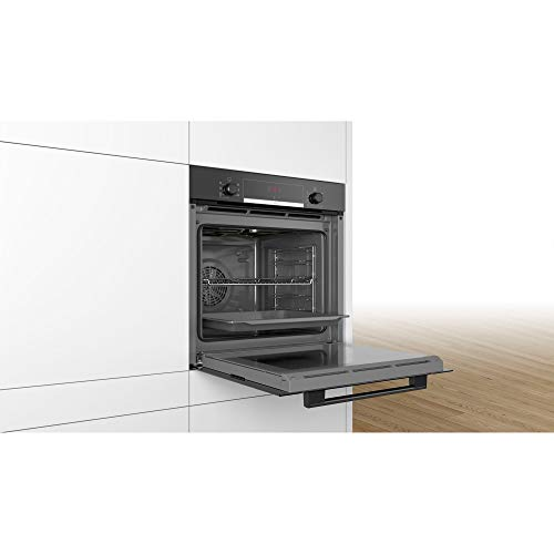 31HbnH0wxyL. SS500  - Bosch HBS534BB0B Serie 4 Multifunction Electric Built-in Single Oven - Black