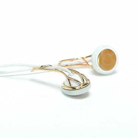 Frends Women's Line The Ella In-Ear-Ohrhörer weiß/gold (Frends Kopfhörer)