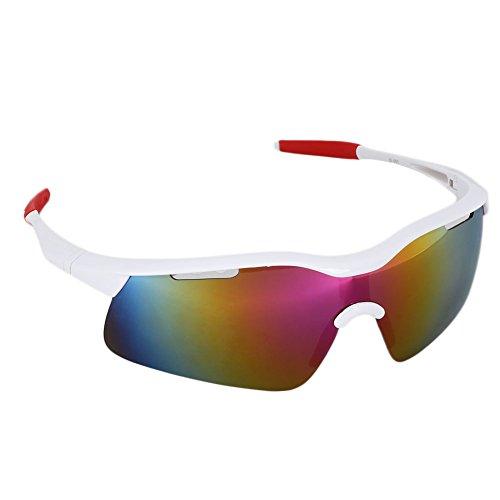 Forfar Gafas de ciclismo Gafas de sol Gafas de moto Deporte al aire libre Anti UV Ojos de Protección Solar Protección de