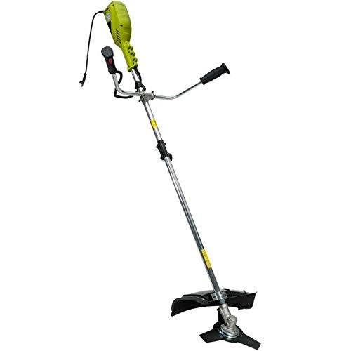 Werkapro 10679 - Débroussailleuse électrique - 1400 Watts - Inclus un harnais + une lame 3 dents + une bobine à fil double