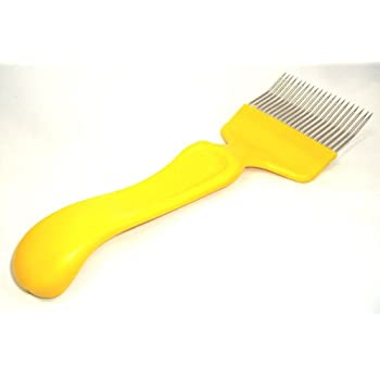 Beekeepers bee Uncapping fork - cranked