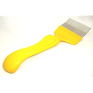 Beekeepers bee Uncapping fork - cranked Beekeepers bee Uncapping fork – cranked 31HbsMs8YKL