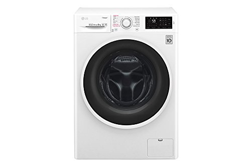 LG f4j6ty0�W Independent Front Loading 8�kg 1400RPM A + + + -30% White�-�Washing Machine (Freestanding, Front Loading, White, Left, LED, Stainless Steel)