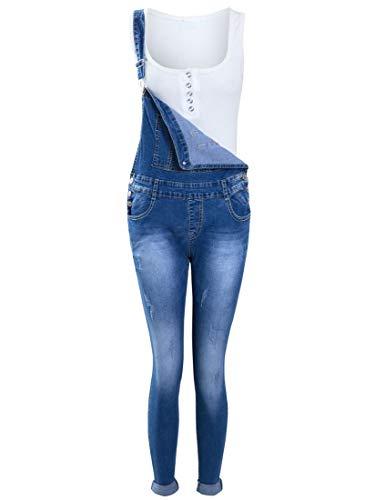 SS7 Mädchen Latzhose Jeans (Anzug Kinder Kessel)