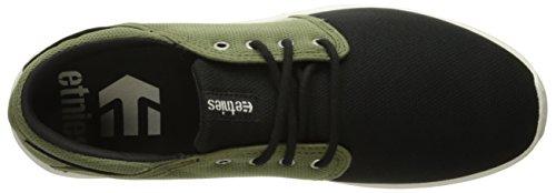 Etnies  SCOUT, Chaussures de Skateboard homme Noir - Schwarz (BLACK/OLIVE / 592)