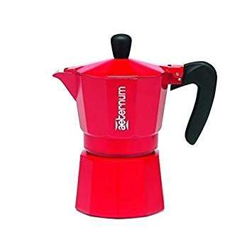 Bialetti Allegra - coffee makers (freestanding, Ground coffee, Manual, Coffee, Stovetop coffee maker, Red)