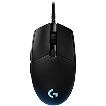 b4d6b8356de Logitech G Pro Gaming Mouse, Tournament Edition Used by Esport  Professionals, RGB Lightning with