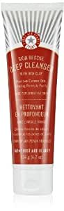 First Aid Beauty Skin Rescue Deep Cleanser with Red Clay - 4.7 oz