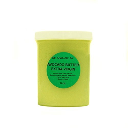 Avocado Butter Extra Virgin Unrefined By Dr.Adorable Pure Raw 8 Oz