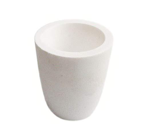 LLF Keramik Schmelztiegel Tasse Ofen Schmelzen Gießen Veredelung Gold Silber Kupfer Gussbecher 500 g