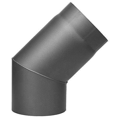 acciaio grigio opaco spessore 1,8 mm Diametro esterno 260 mm per uso Interno Duratherm Rosette Canna fumaria per stufa /Ø 150 mm