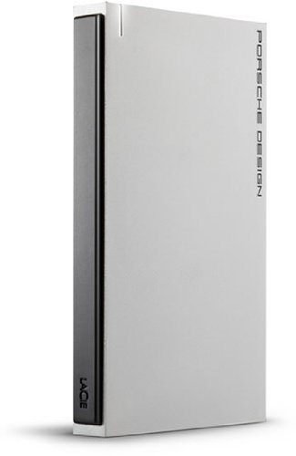 LaCie Porsche Design 2.5 externe Festplatte 500GB (6,4 cm (2,5 Zoll), USB 3.0) hellgrau