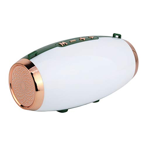 Altavoz bluetooth ducha,CHshe☀☀☀,HIFI Altavoz inalámbrico Bluetooth portátil,Barra de sonido estéreo TF Subwoofer...