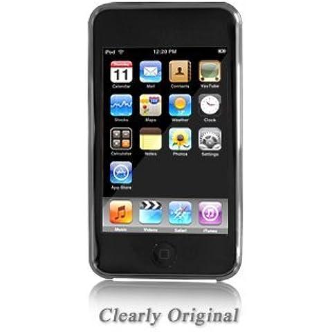 Funda y Protector Pantalla Integral Shades para iPod Touch 2G / 3G (8, 16, 32, 64GB) - Color Transparente - Clearly