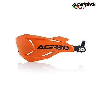 Acerbis Handschutz X-Factory in orange-schwarz inkl. Anbaukit