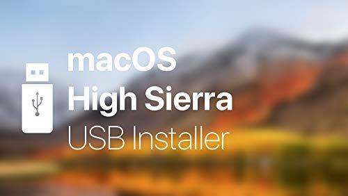 OS X HIGH SIERRA SIERRA 10 13 Bootable USB Installation install repair  upgrage for Macbook Pro, Mac Mini, iMac …