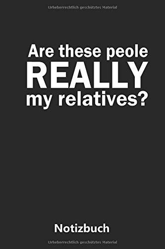 wirklich meine Eltern? | lustiger englischer Spruch (liniert | 100 Seiten) ()