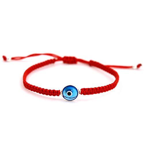 Mizze Made For Luck Jewelry El clásico cristal mal de ojo Encanto Pulsera Para Hombres y Mujeres-Simple y clásico