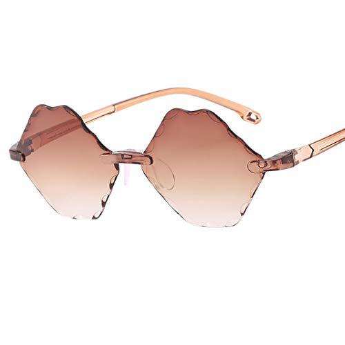 HET Kinder unregelmäßige Augen Sonnenbrillen Gradient Eyewear Mode Strahlenschutz