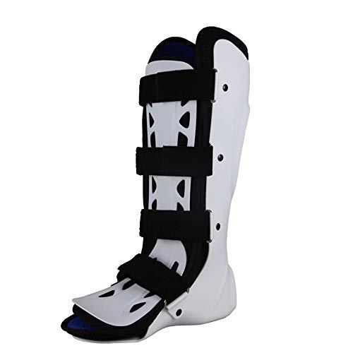 Guoyajf Knöchelbandage - Steigbügel Knöchelschiene - Verstellbarer starrer Stabilisator für Verstauchungen, Unterstützung und Schutz vor Verletzungen nach dem Eingriff, Walker Brace/Walking Boot,Left - Aircast Sport-knöchel-steigbügel