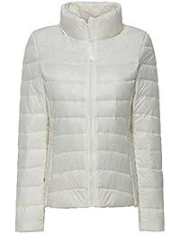 Bianchi E Giacche Donna Abbigliamento it Piumini Amazon Cappotti FnHE4x4