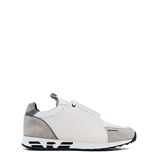 Emporio Armani - Zapatillas para Hombre Blanco Size: 41 EU