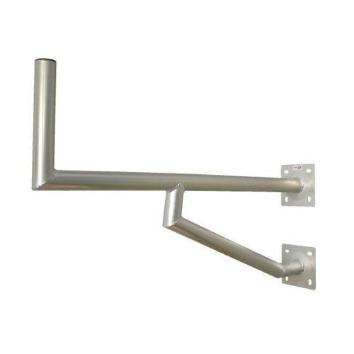 PremiumX 100cm Wandhalter ALU mit zwei Wandplatten SAT Antenne Wand Montage Halter Wandabstand 1000mm