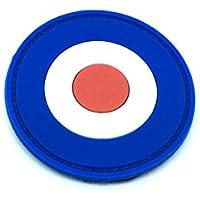 RAF Mod Lambretta Pop Art products Target Airsoft Velcro PVC Parche