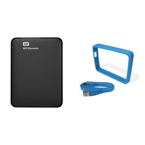 WD Elements - Disco duro externo portátil 1 TB USB