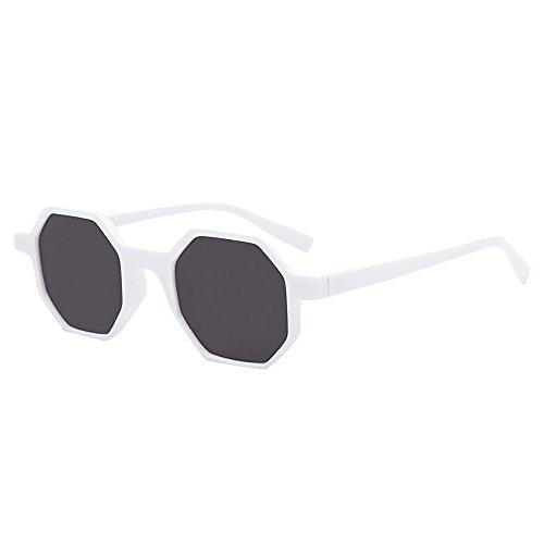 Battnot☀ Sonnenbrille für Damen Herren, Unisex Vintage Mode Rapper Rhombic Shades Shades Anti-UV Gläser Sonnenbrillen Schutzbrillen Männer Frauen Retro Billig Sunglasses Fashion Women Eyewear