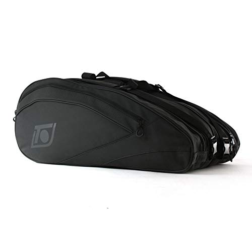 Topspin Tennistasche Home of The Rebels - 12er Bag, inkl. Thermofach, schwarz -