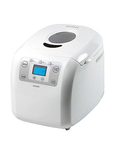 Domo DO-B3985 - Panificadora, 600 W, color blanco