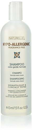 Naturelle Hypo-Allergenic Fragrance-Free Shampoo 15 oz (2 pack) by Naturelle