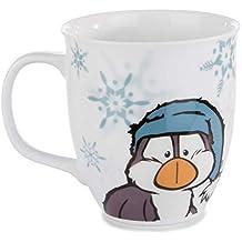 61eb6f57985 Nici 42059 Winter Porzellantasse mit Eisbär Bignic und Pinguin Toddytom,  9,5 x 10
