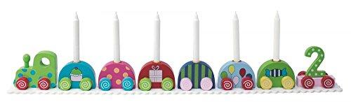 hübscher, farbenfroher Geburtstagszug Klassik von JaBaDaBaDo aus Schweden