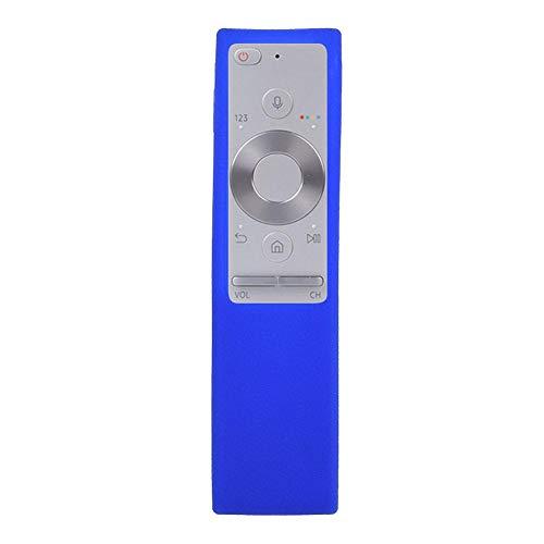 Mavis Laven Remote Case, stoßfeste Silikon-Schutzhülle Staubschutzhülle für Samsung BN59-01220G TV-Fernbedienung (Blau) Blau Tv