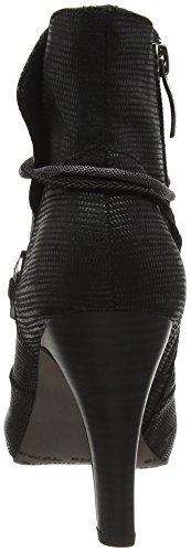 Tamaris 25372, Bottes Classiques Femme Noir (Black Struct. 006)