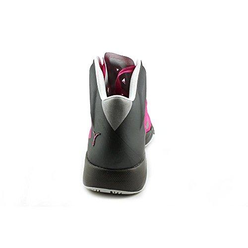 Scarpe Hyper Rapidità di pallacanestro Pinkfire II/Mtllc Slvr-Drk Gry