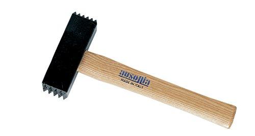 Ausonia - Martello carpentiere tipo bocciarda con manico legno Kg...