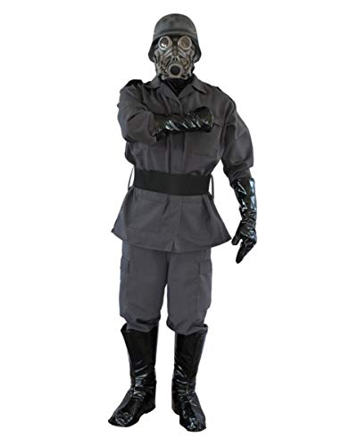 - Gasmaske Soldat Kostüm